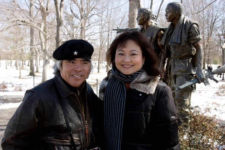 Nick Ut and Kim Phuc